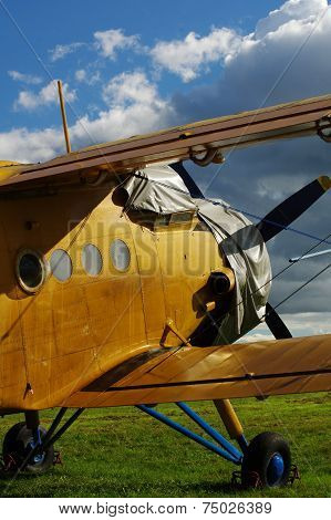 Sporting biplane aircraft 6