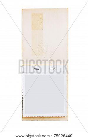 Antique photo album paper sheet type