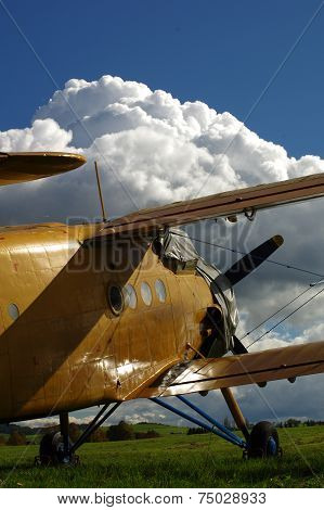 Sporting biplane aircraft 3