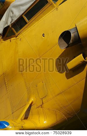 sporting biplane aircraft details