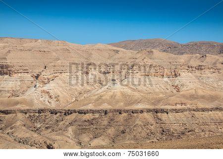 Atlas Mountains, Chebika, Border Of Sahara, Tunisia