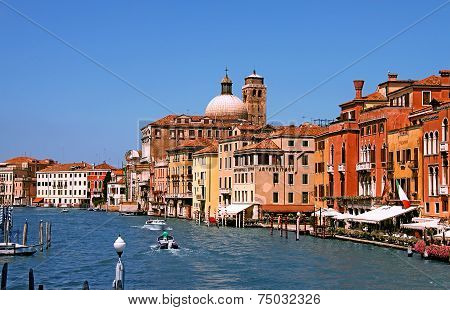The Grand Canal In Venice,