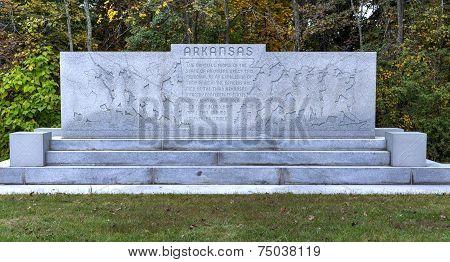 Arkansas Memorial Monument, Gettysburg, Pa
