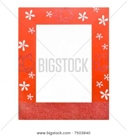Red Photo Frame