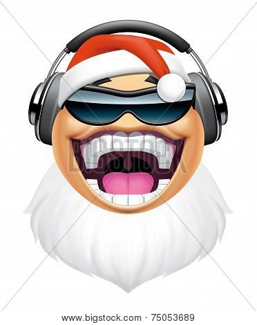 Santa Dj Character