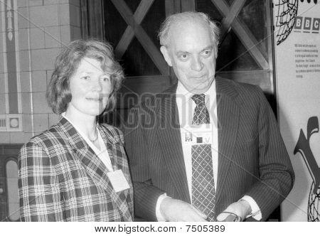John Biffen & Frau Sarah