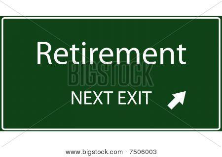 Retirement Vector Sign