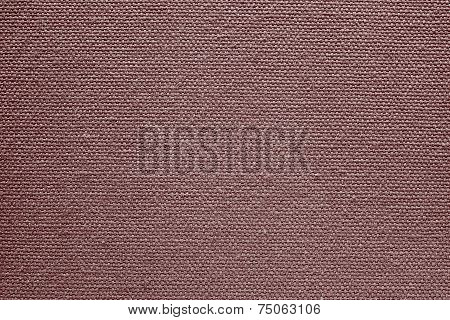 Exture Of Rough Fabric Crimson Color