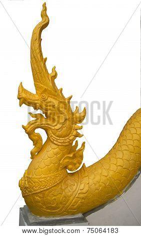 Golden King Of Nagas