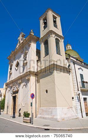 Church of Carmine. San Severo. Puglia. Italy.