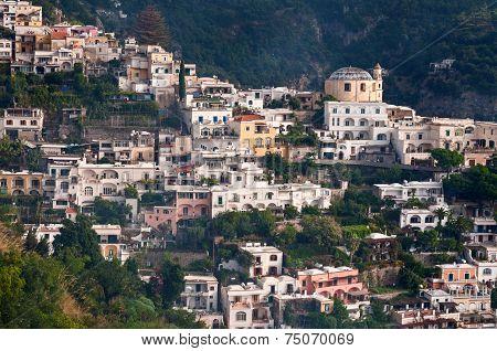 Small Part Of Positano, Italy