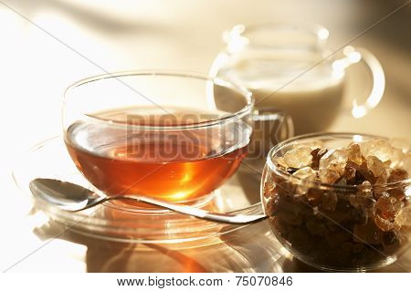 Tea, Brown Sugar And Milk