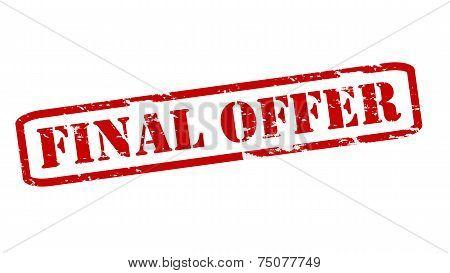 Final Offer