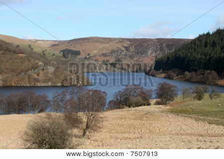 Penygarreg Reservoir, Elan Valley Wales Uk.