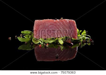 Delicious Tuna Steak.