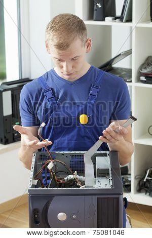 Computer Specialist Having Problem