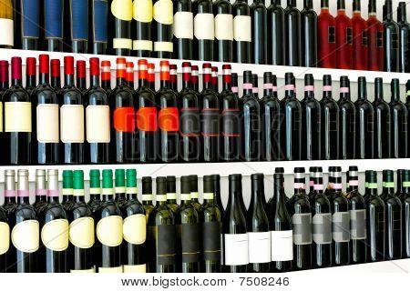 Wine Bottles Detail