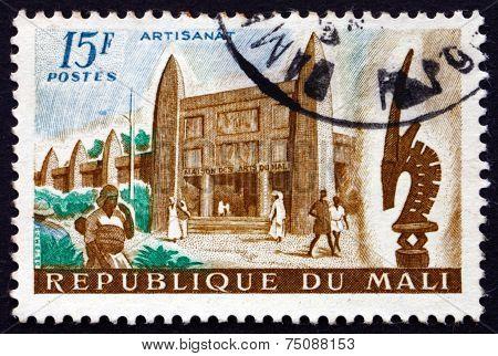 Postage Stamp Mali 1961 Mali Arts Museum