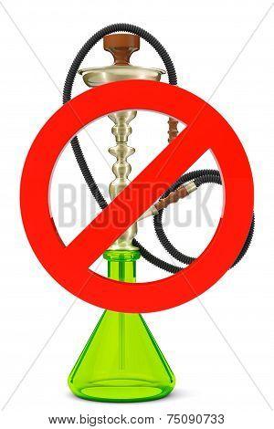 No Smoking Hookah Sign