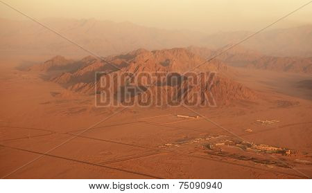 Sinai. Egypt. Type of aircraft.