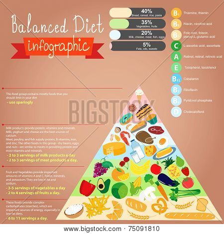 Health Food Infographic.