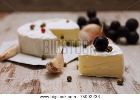 Portion Of Camembert