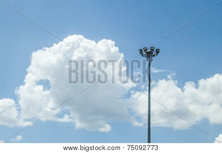 Spot Light Pole