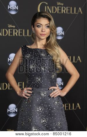 LOS ANGELES - MAR 1:  Sarah Hyland at the
