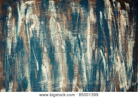Colored Painted Wooden Background