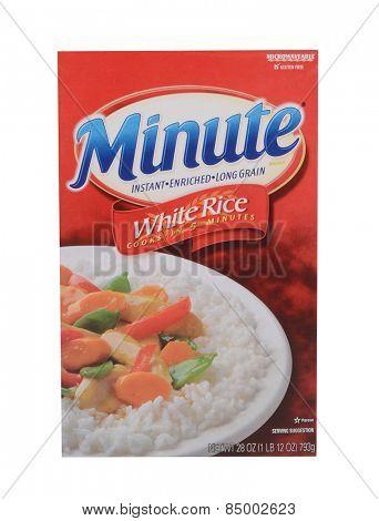 Los Angeles,California Feb12,2015 Box Of Minute Rice