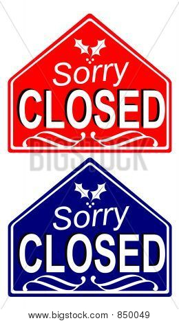 Closed Signs