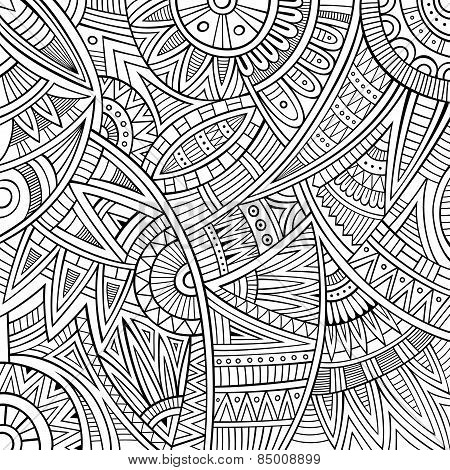 Abstract vector tribal ethnic background