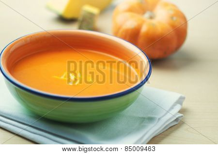 A wholesome vegetarian soup.