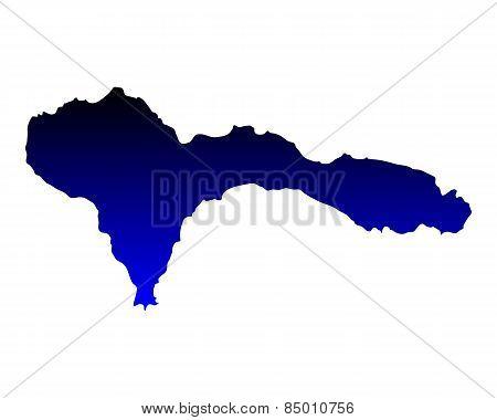 Map Of Sao Nicolau