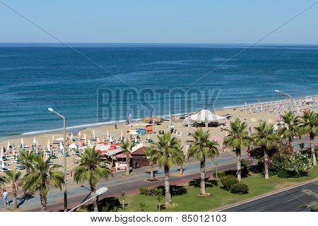Alanya - the beach of Cleopatra
