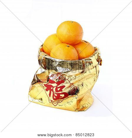 Four Oranges, Auspicious