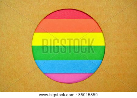Stylized Lgbt Flag