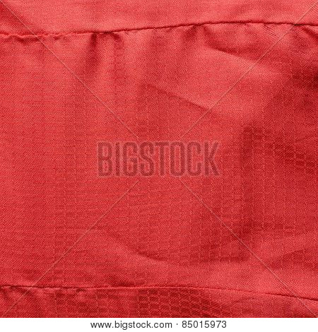 Red cloth fragment
