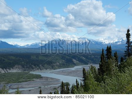 Mountains over the Copper River