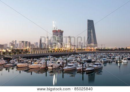 Souk Sharq Marina in Kuwait