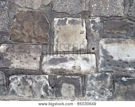 Old Vintage Sandstone Wall 1