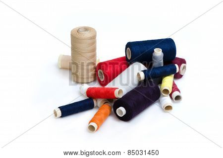Heap Of Thread Reels