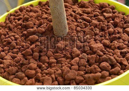 Red Clay Used As A Mulch