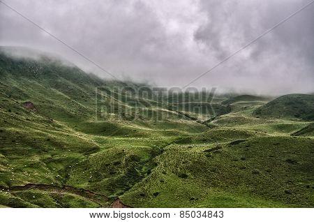 Pyrenees Mountains Landscape
