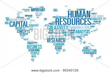 Human Resources Career Jobs Occupation Employment Concept