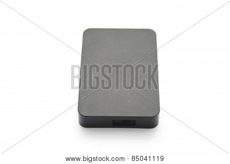 Black External Hard Drive Disk