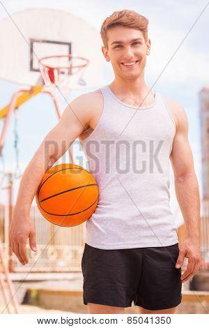 Basketball Player.