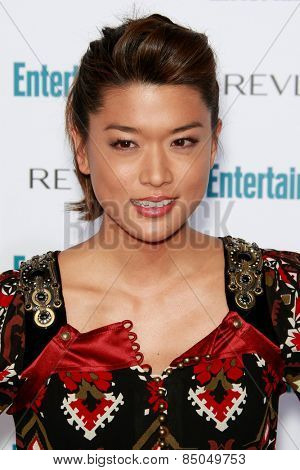 BEVERLY HILLS - SEP 20: Grace Park at the 6th Annual Entertainment Weekly Pre-EMMY party  on September 20, 2008 in Beverly Hills, California