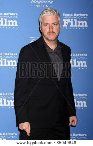 SANTA BARBARA - JAN 29:  Anthony McCarten at the Santa Barbara International Film Festival - Cinema Vanguard Award at a Arlington Theater on January 29, 2015 in Santa Barbara, CA