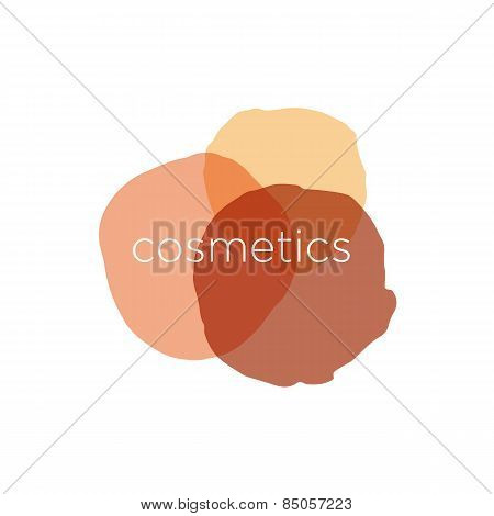 Abstract Vector Icon For Cosmetics And Beauty